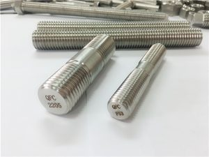 No.80-duplex 2205 S32205 2507 S32750 1.4410 kalitate handiko ferrajezko egurrezko haga-haga aingura