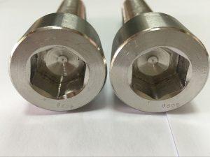 finkagailu fabrikatzaileek DIN 6912 titaniozko hexagonoaren entxufe burua