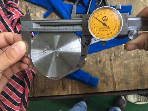 S31803 Hex Tap torlojuaren dimentsio proba